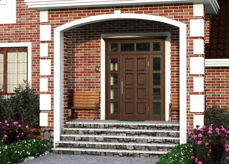 двери входной группы металлические